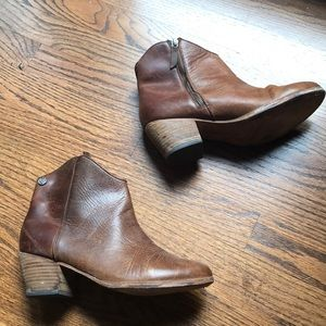 Leather Booties!!